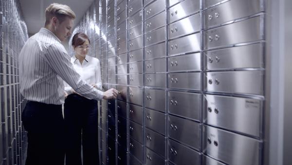 Safe deposit boxes and Guardian Vaults