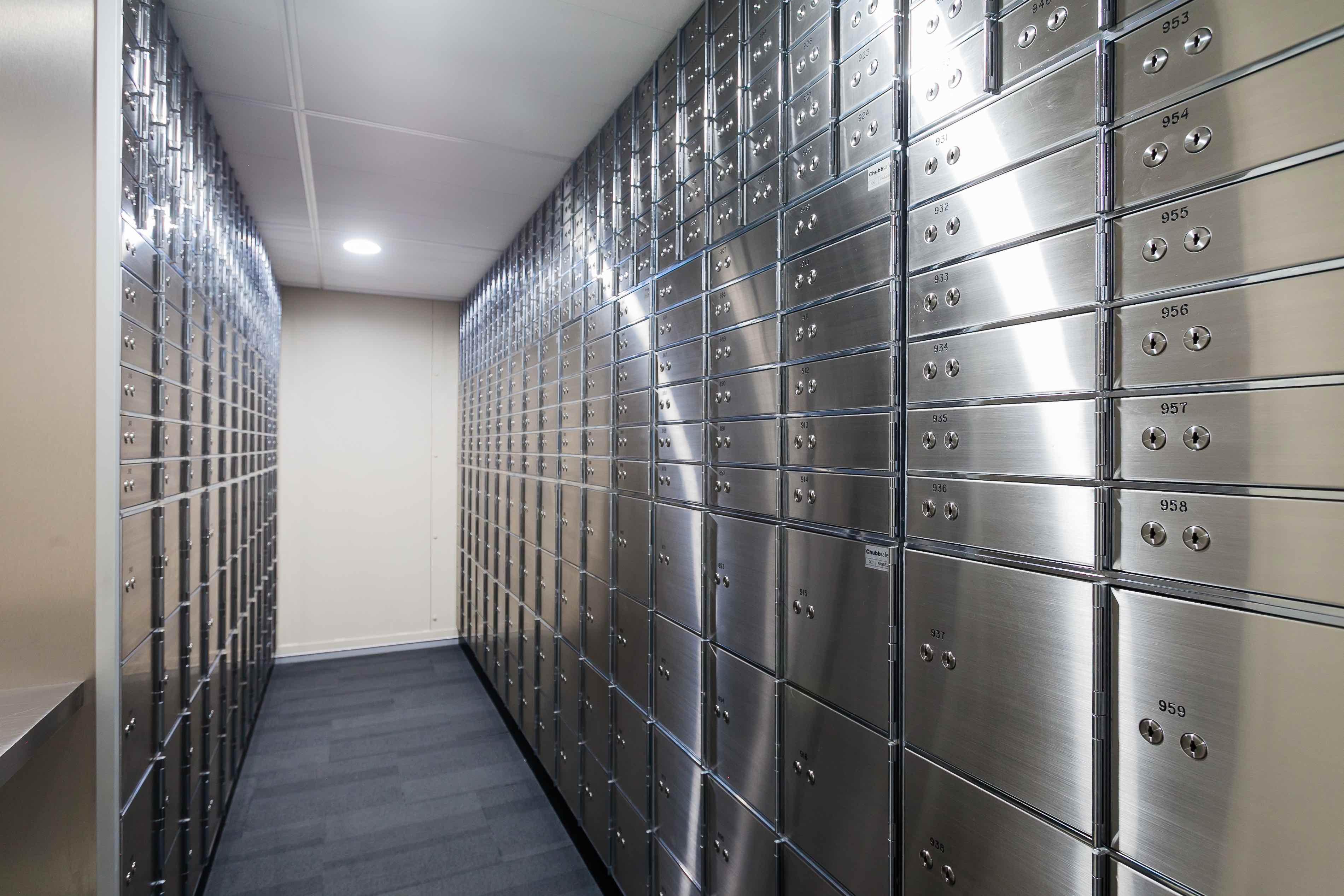 Guardian Vaults Safe Deposit Boxes