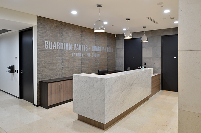 Guardian Vaults Sydney Reception